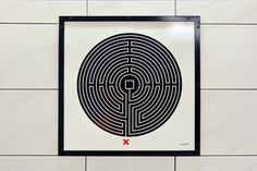 Creative Review Mark Wallinger's Underground Labyrinth #art #underground #labyrinth