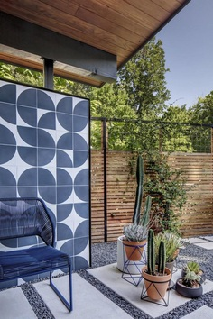 Central Austin House Remodeled in the Spirit of the Original Mid-Century House 9, outdoor