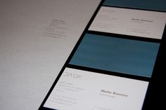 DASK Identity on Behance #optical #business #card #identity #logo