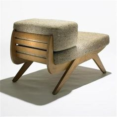 Charlotte Perriand, Tokyo Lounge Chair, 1954. #chair #furniture