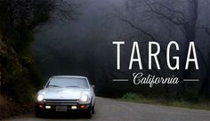 Petrolicious: Targa California [VIDEO] #petrolicious #autos #typography