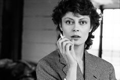 Susan Sarandon, New York, N.Y., 1983. PHOTOGRAPH BY BRIGITTE LACOMBE.