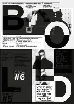 BOLD — posters