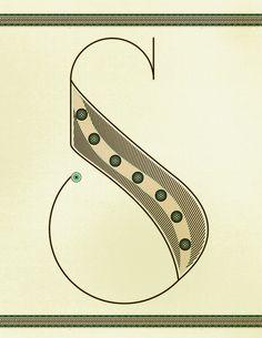 Santa Fe : Fernando Gaverd #lettering #santa #mexico #typography #fe #new