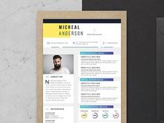 Free Elegant Professional Resume template for Job Seeker