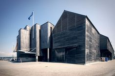 james lawley / documenting architecture #timber #museum #falmouth #photography #architecture #cladding #maritime