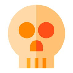 See more icon inspiration related to skull, skeleton, anthropology, miscellaneous and bones on Flaticon.