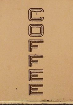 Type Hunting #coffee #logo