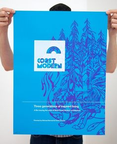 Blog – Coast Modern #modern #print #design #graphic #illustration #poster #film #coast