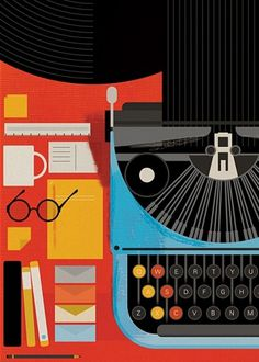 The Visual Work Of Mike Lemanski #illustrator #mike #poster #lemanski #underwood