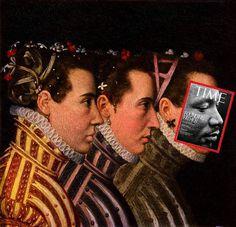 Eisen Bernard   PICDIT #magazine #painting #collage #art
