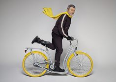 Pibal bicycle by Philippe Starck and Peugeot #starck #philippe #bike #pibal #eel #baby