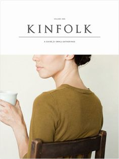 Magazine Wall Kinfolk #magazine #editorial design