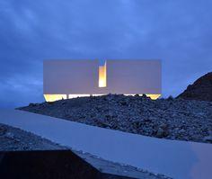 Gallarda House, minimalist house located in Almería, Spain,