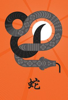 year of the snake 2013 v2.jpg #constrictor #year #of #orange #the #snake #chinese #boa