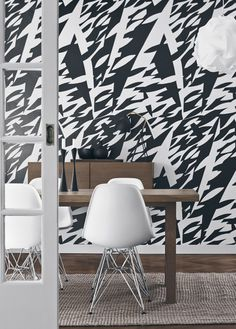 Boråstapeter #interior #wallpapers #room #workspace