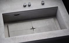 Spüle aus Beton #modular #steininger #kitchen #concrete
