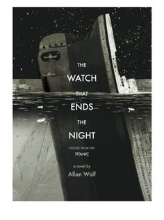 Drawn #titanic #sinking #ends #cover #night #sea #watch