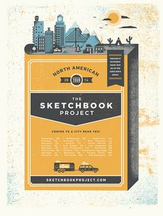 Sketchbook Project | Two Arms Inc.