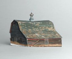 brokenhouses-13 #sculpture #house #art #broken #miniature