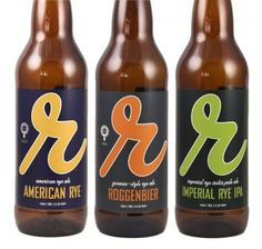 Reuben's Brews | Oh Beautiful Beer #packaging #beer #label #bottle