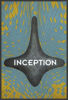 Inception Poster #movie #inception #poster