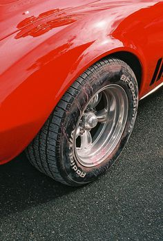 car, closeup
