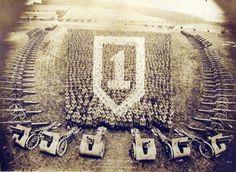 Living Insignia, 1915-1947 | Retronaut #logo #army #art #people