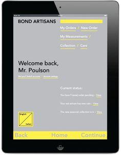 iPad app design #apple #ipad #italian #app #order