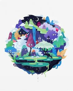 spheres on the Behance Network #illustration #sphere