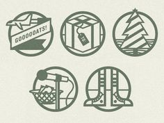 Dribbble - Fundraising Icons by Scott Hill #illustration #icons