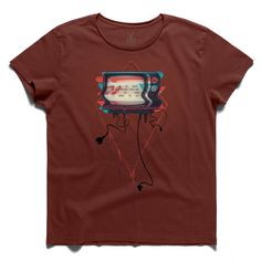 #bang tv #claretred #tee #tshirt #television #cable #plug #media #antimedia