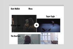 Kate Wallich by Shore #web design #website #web