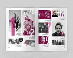 NU on the Behance Network. #a #project #jazz #school #my #bands #tribute #favorite #to #magazine