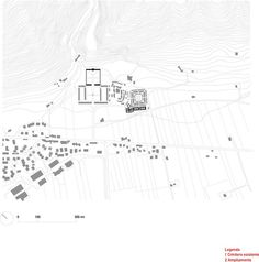 Extension of Gubbio Cemetery / Andrea Dragoni + Francesco Pes #architecture #drawing