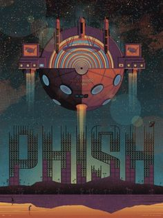 DKNG Studios » Posters #hollywood #vector #bowl #space #poster #dkng #phish