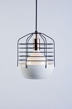 Atelier Takagi | Abitare En #bulb #lamp #wireframe #wired