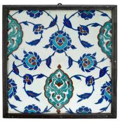 Fine Ottoman tile #Sets #Teasets #Porcelainsets #Antiqueplates #Plates #Wallplates #Figures #Porcelainfigurines #porcelain