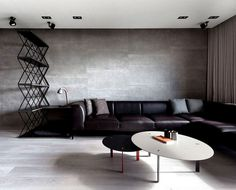 Dark and Moody Apartment Interior color trend