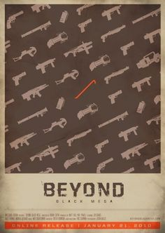 Beyond Black Mesa's Photos - Wall Photos #movie poster #halflife #beyond black mesa