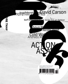 dcd #graphic design #typography #david carson
