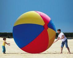 Big Mouth Toys Gigantic Beach Ball #dimensions #gadget