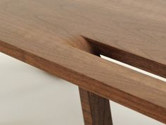 Ricco TableDesign: Ryan Richardson #ricco #ryan #wood #richardson #table
