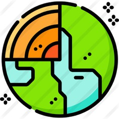 See more icon inspiration related to miscellaneous, planet earth, solar system, astronomy, universe, galaxy, space, planet, earth and nature on Flaticon.