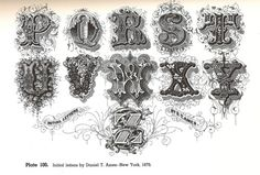 Typeverything.com @typeverything Here's page 2... - Typeverything #caps #old #drop #ornamental #decorative #typography