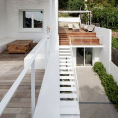 CJWHO ™ (05 AM arquitectura | Baluster Lattice House,...) #spain #white #design #architecture #barcelona #exteriors #luxury