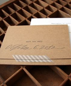 Blackbird Letterpress via Oh So Beautiful Paper (6) #invitations