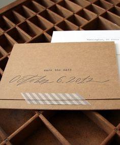 Blackbird Letterpress via Oh So Beautiful Paper (6) #invitations