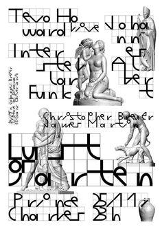 Johannes Breyer (Typeface: Galapagos, by Felix Salut + Dinamo)