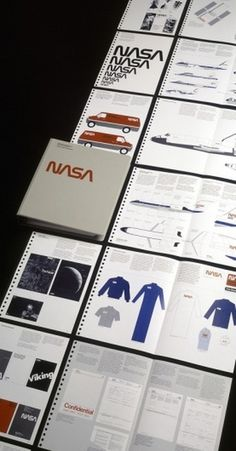 NASA Graphic Standards Manual – 1976 | AisleOne #1976 #nasa #design #graphic #manual #standards